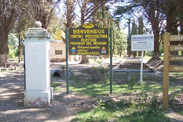 SALIDA CENTRO DE PISCICULTURA DE PLOTTIER
