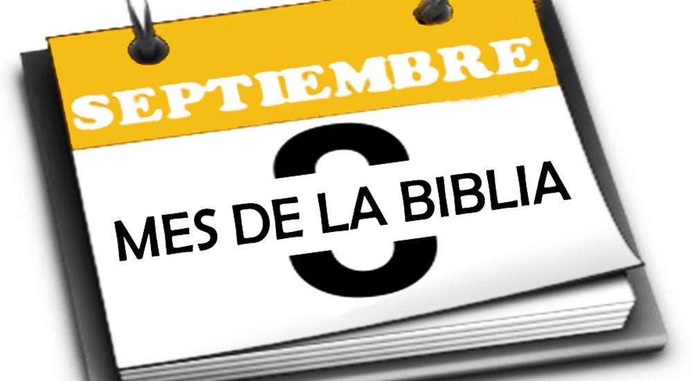 Septiembre: Mes de la BIBLIA