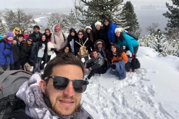 Viaje de estudio a Moquehue con tercer año