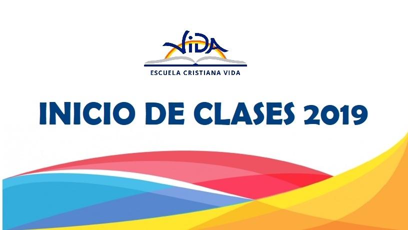 INICIO DE CLASES 2019